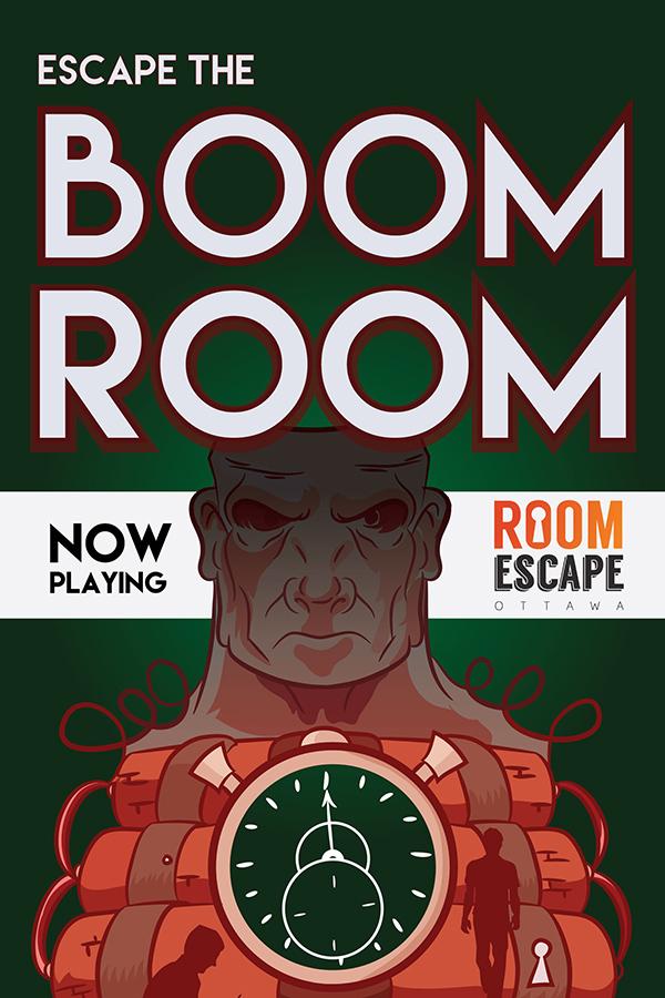 Escape The Boom Room Sarouen Illustration
